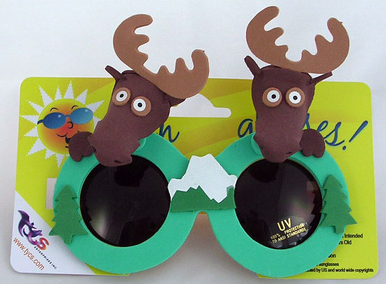Foam Moose Glasses
