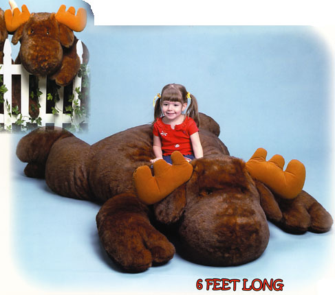 Morgan the Giant Moose